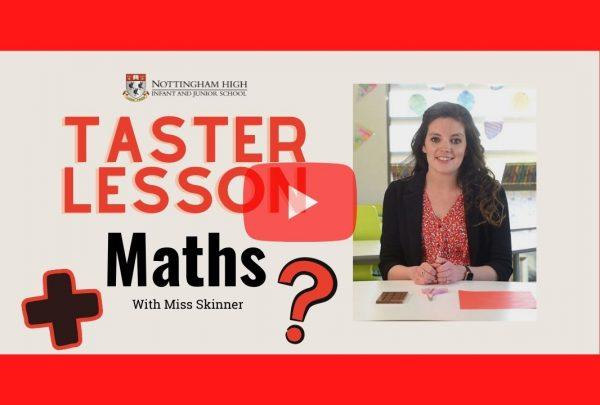 Thumbnail for Maths taster lesson